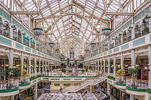 Stephen's Green Shopping Centre - Interior of the shopping centre.