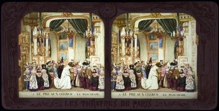 Stereokort, Le Pré aux Clercs 3, La Mascarade - SMV - S87b.tif