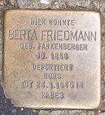 Stolperstein Berta Friedmann Offenburg.jpg