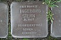 Stolperstein Duisburg 300 Mittelmeiderich Augustastraße 29 Ingeborg Stern.jpg