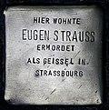 Stolperstein Köln, Eugen Strauss (Theresienstraße 19).jpg