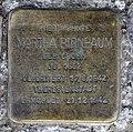 Stolperstein Livländische Str 17 (Wilmd) Martha Birnbaum.jpg