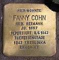 Stolperstein Marienbader Str 12 (Schma) Fanny Cohn.jpg