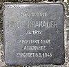 Stolperstein Salzbrunner Str 42 (Schma) Hilde Krakauer.jpg