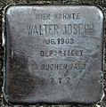 Stolperstein Solingen Birkenweiher 39 Walter Joseph.jpg