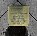 Stolperstein für Jacob Degen, Erich-Mühsam-Straße 18, Chemnitz (2).JPG