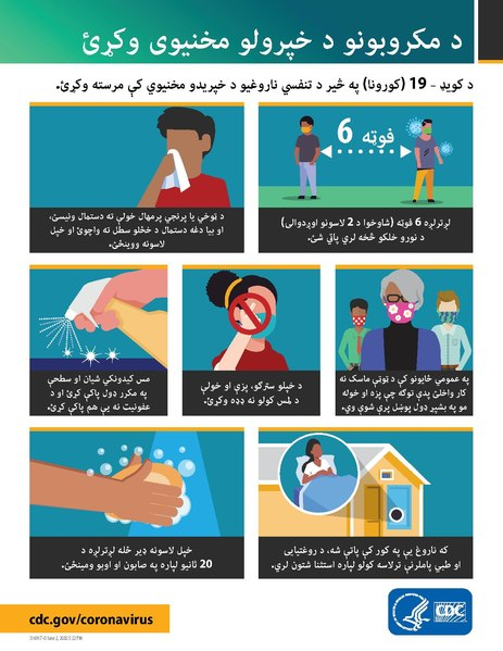 دوتنه:Stop the Spread of Germs updated (Pashto).pdf