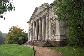 Henry Flitcroft - Image: Stourhead Pantheon 03