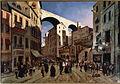 Strada della Madre d'Iddio e Ponte di Carignan a Genova di Van Loon Pieter.jpg