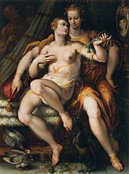Stradanus: Vanity, Moderation, and Death