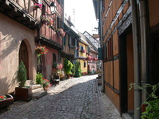Eguisheim Commune in Grand Est, France