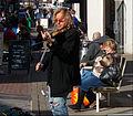 Street performer, Sutton High Street, Sutton, Surrey, Greater London (2).jpg