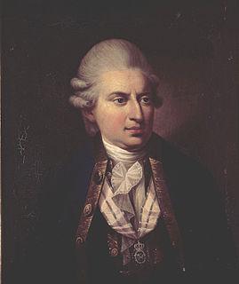 Johann Friedrich Struensee De facto regent of Denmark