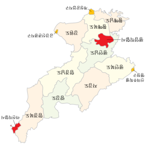 Subdivisions of North Korea (Korean).png