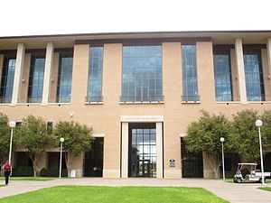Radcliffe Killam - The Sue and Radcliffe Killam Library at Texas A&M International University in Laredo, Texas
