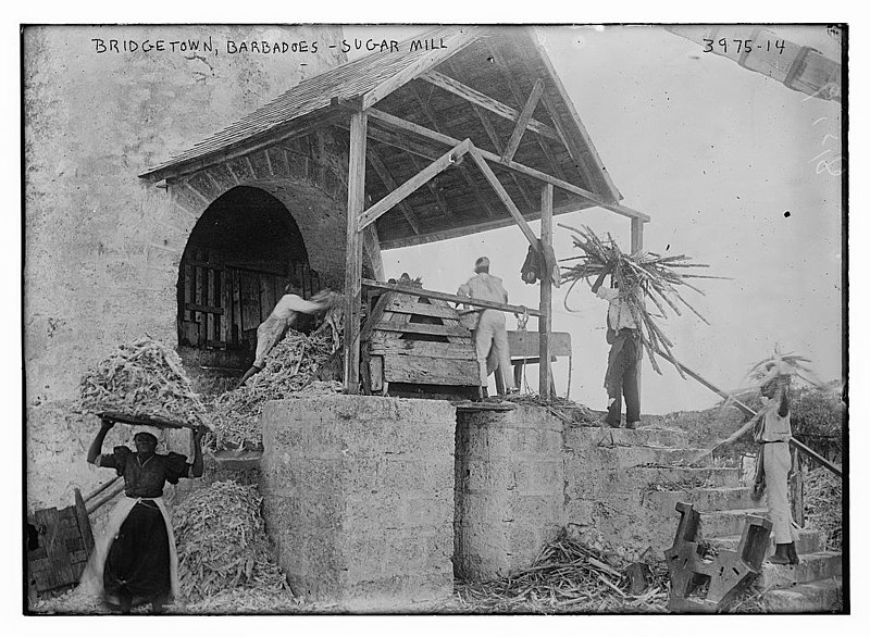 File:Sugar mill in Bridgetown, Barbados in 1916.jpg