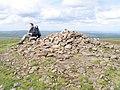 Summit Cairn on Pen y Gadair Fawr - geograph.org.uk - 23969.jpg