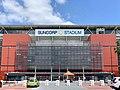 Suncorp Stadium, Caxton Street facade, Brisbane 01.jpg