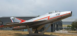Dassault Super Mystère - Image: Super Mystere B2