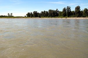 Susitna River - Susitna River on a clear sunny day in June 2015 near Talkeetna.