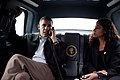 Sutphen with Obama in limo.jpg