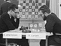 Svein Johannessen en Bent Larsen (1960).jpg