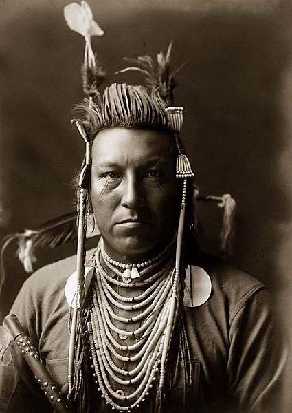 Description Swallow Bird  Crow Indian  Edward S  Curtis