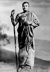 Vivekananda as a wandering monk