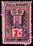 Switzerland Neuchâtel city 1930 revenue 6 2Fr - 11.jpg