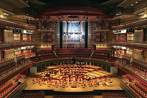 Symphony Hall, Birmingham - Image: Symphony Hall Birmingham from Upper Circle