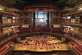 Symphony Hall, Birmingham concert hall in Birmingham, England