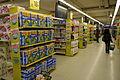 Tête de gondole d'un supermarché parisien.JPG