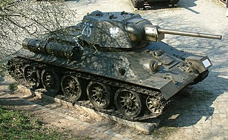 1st Armoured Brigade (Poland) - T-34 tanks formed the main equipment of the brigade