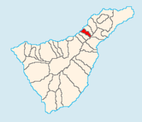 Municipal location in Tenerife