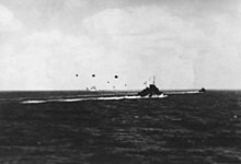 TG17.3 and HMAS Australia under attack May 7 1942.jpg