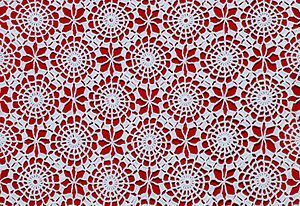 Tablecloth - Detail of crochet table-cloth
