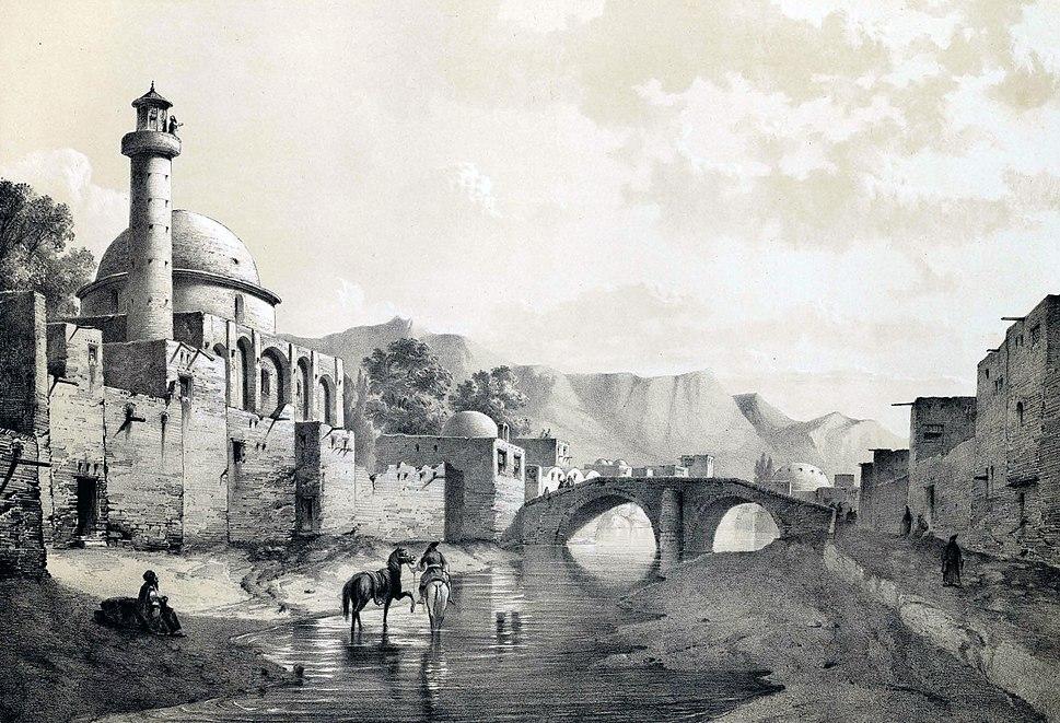 Tabriz by Eugène Flandin