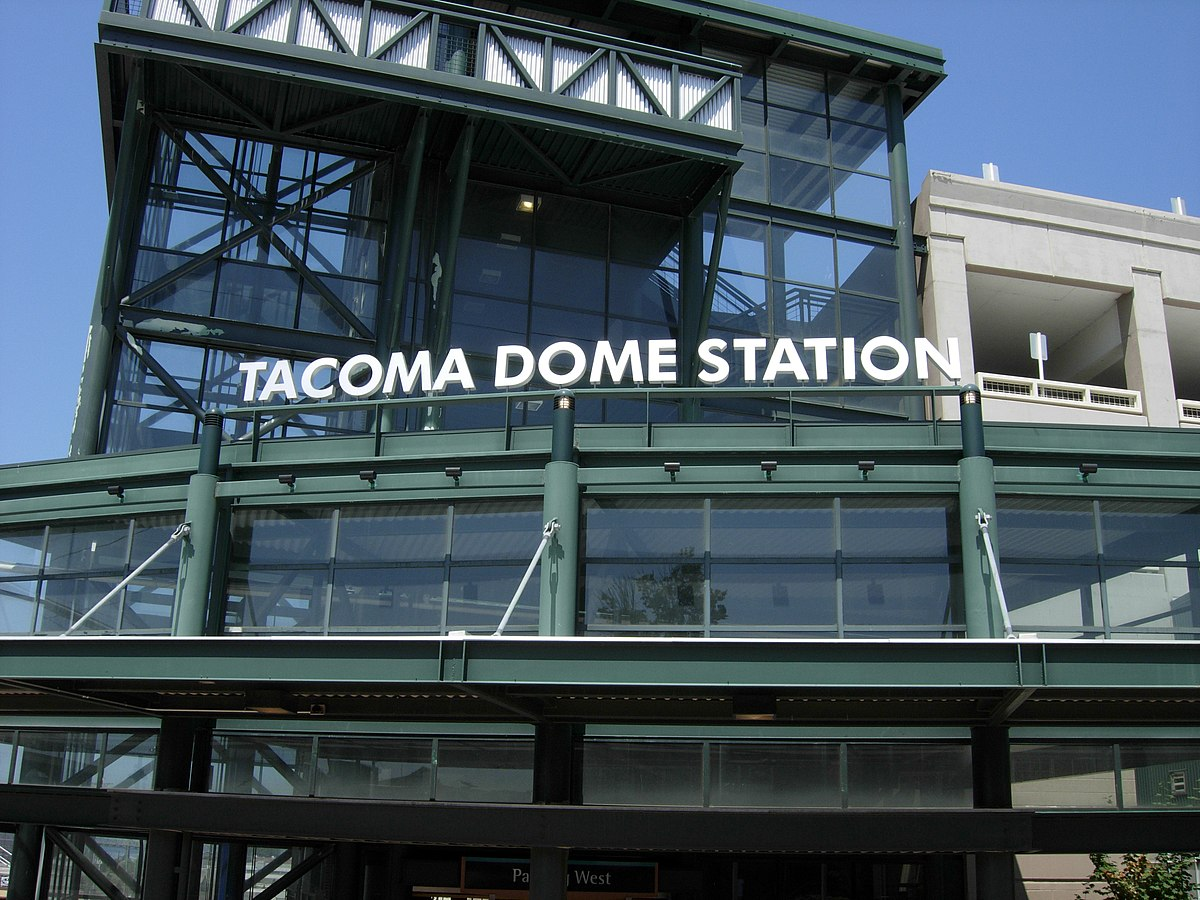 Tacoma To Seattle >> Tacoma Dome Station - Wikipedia