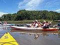 Taking a break at the Taskinas Creek headwaters (5955091472) (2).jpg