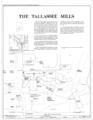 Tallassee Mills, 1844 Old Mill Road, Tallassee, Elmore County, AL HABS ALA,26-TALA,1- (sheet 1 of 12).png