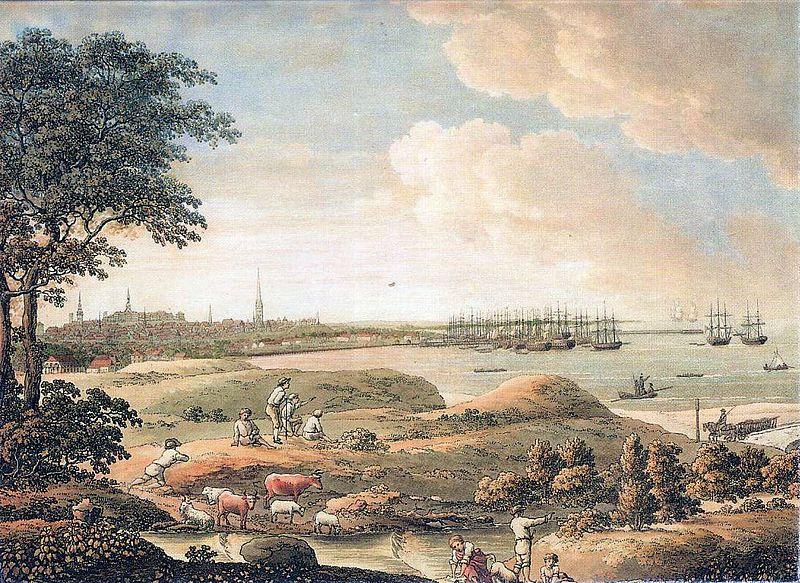File:Tallinn Vaade linnale 1816.jpg