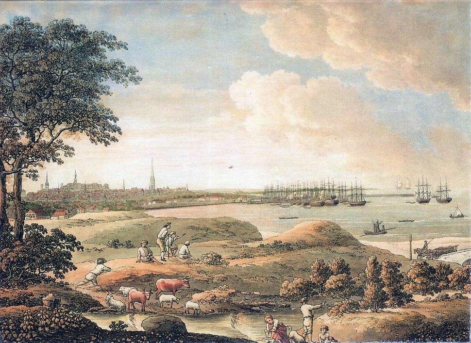 Tallinn Vaade linnale 1816