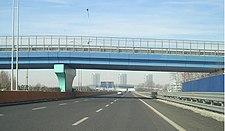 Tangenziale sud di Brescia in direzione Milano nel tratto a tre corsie
