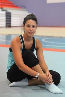 Tania Lamarca Spanish gymnast