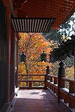 Tanzan Shrine in autumn