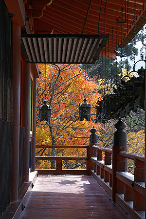 Nara Prefecture - Tanzan Shrine in autumn