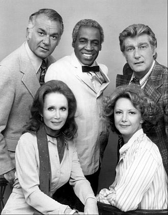 Soap (TV series) - The Tates and Campbells with Benson.