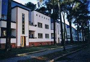 New Objectivity (architecture) - Bruno Taut, Onkel-Toms-Hütte, Wilskistrasse, Berlin