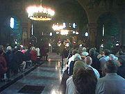 Θεία Λειτουργία ανήμερα της Πεντηκόστης, 2004