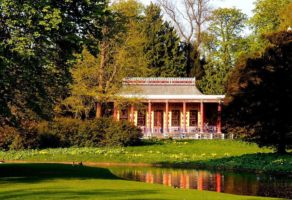 Palais chinois du parc de Frederiksberg à Copenhague - Photo de Daniel Stello